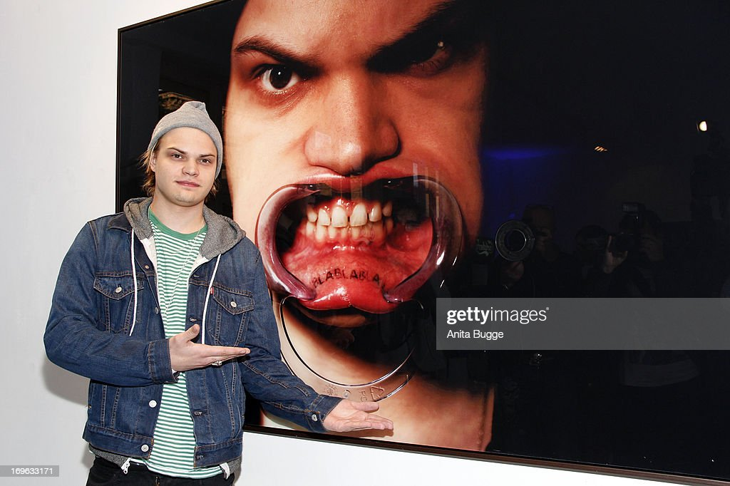 Wilson Gonzales Ochsenknecht attends the opening of the 'Niels Ruf Art Exhibition' at Camera Works on May 29, 2013 in Berlin, Germany.