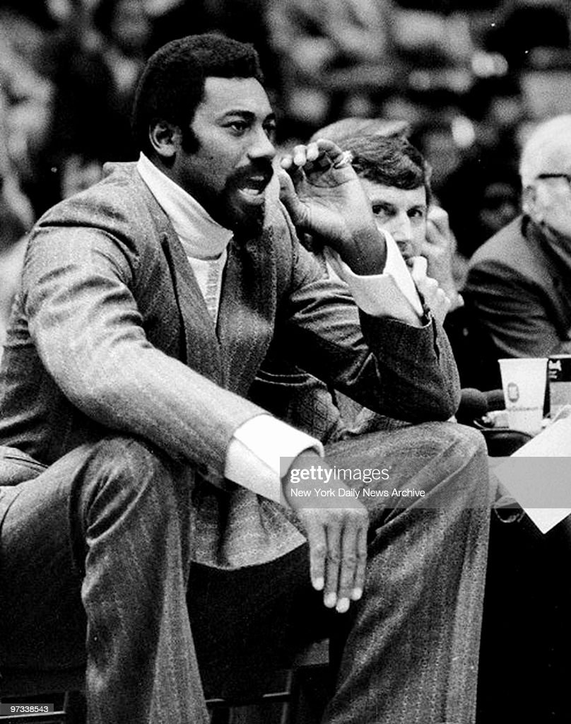 Wilt Chamberlain makes his debut as a coach for the San Dieg