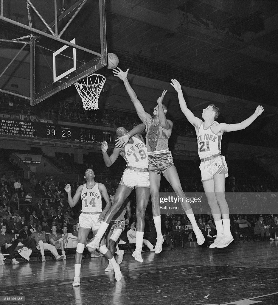Wilt Chamberlain Scoring Basket
