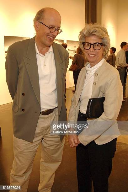 Wim de Wit and Lenore Greenburg attend SPFa Gallery at MODAA presents the architecture of William Krisel at SPFa Gallery at MODAA on October 17 2008...