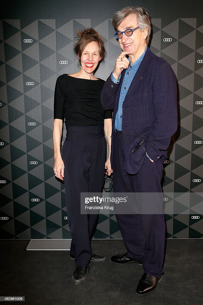 Wim Wenders and his wife Donata Wenders attend the AUDI Berlinale Brunch during the 65th Berlinale International Film Festival at AUDI Lounge on...