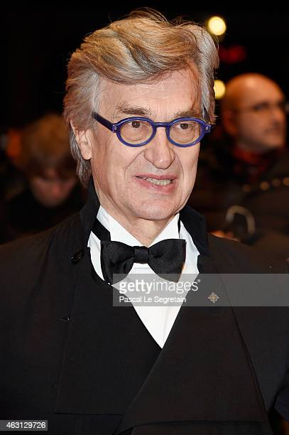 Wim Wenders attend the 'Every Thing Will Be Fine' premiere during the 65th Berlinale International Film Festival at Berlinale Palace on February 10...
