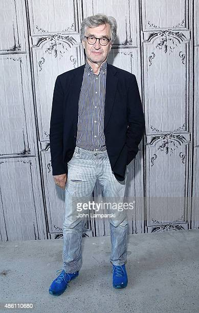 Wim Wenders attends AOL Build Speaker Series at AOL Studios In New York on August 31 2015 in New York City