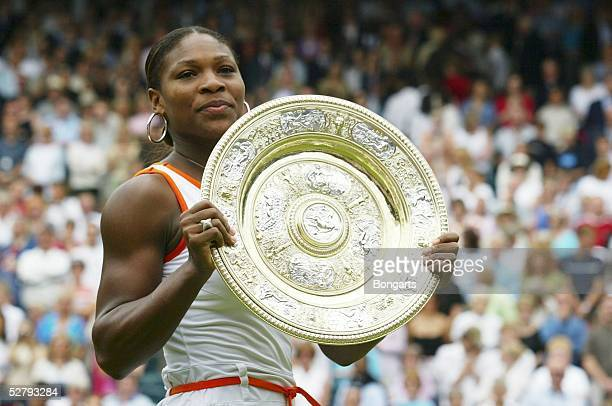 Wimbledon 2003 London Frauen/Einzel Serena WILLIAMS/USA Wimbledonsiegerin 2003