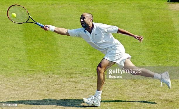 Wimbledon 2003 London Maenner/Einzel Andre AGASSI/USA