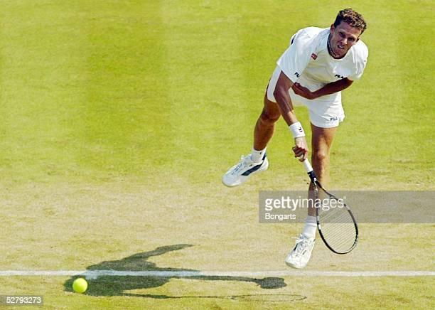Wimbledon 2003 London Maenner/Einzel Lars BURGSMUELLER/GER