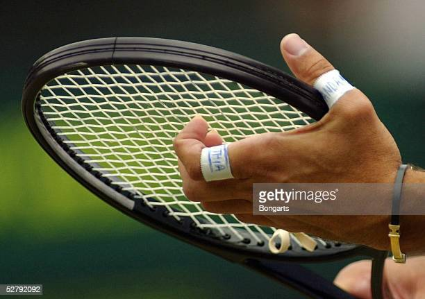 Wimbledon 2003 London Maenner/Einzel/Finale Mark PHILIPPOUSIS/AUS'andras pathia'der Mann der Leidenschaft