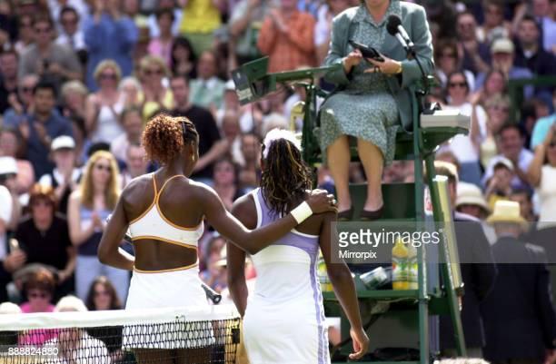 Wimbledon Tennis Championship July 2000 Tennis sisters Serena and Venus Williams Venus won the match