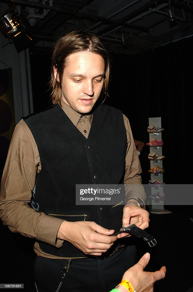Win Butler of Arcade Fire during 2005 MuchMusic Video Awards - Gift Bag Lounge Day 1 at CHUM CITY TV Building in Toronto, Ontario, Canada.