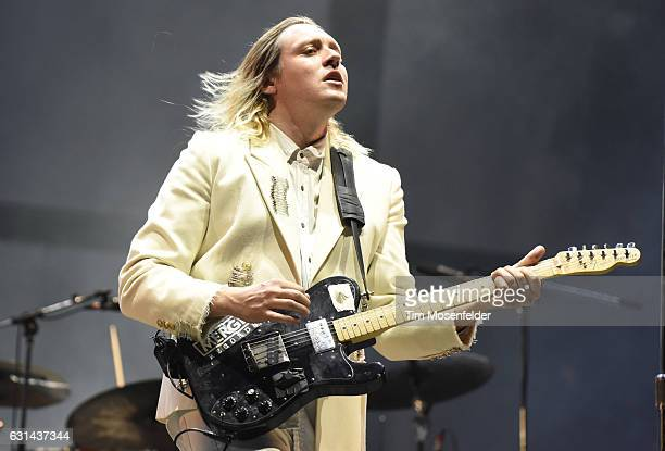 Win Butler of Arcade Fire performs during the Voodoo Music Arts Experience at City Park on October 30 2016 in New Orleans Louisiana
