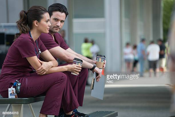 MED 'Win Loss' Episode 203 Pictured Torrey DeVitto as Natalie Manning Colin Donnell as Connor Rhodes