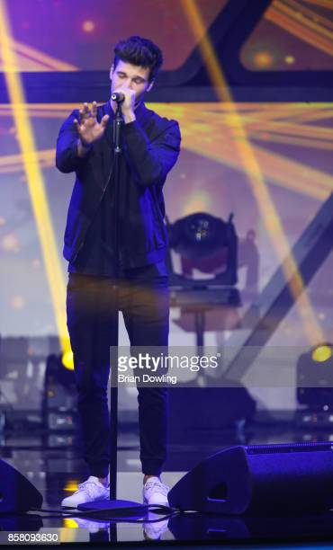 Wincent Weiss performs at the Tribute To Bambi show at Station on October 5 2017 in Berlin Germany