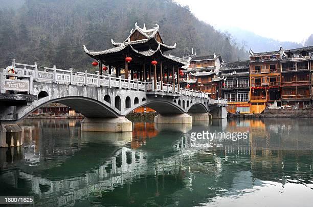 Wind bridge of Fenghuang Ancient Town
