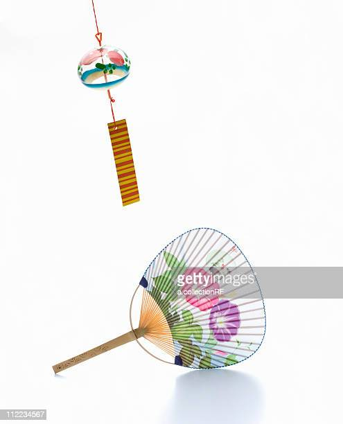 Wind chime and fan, Digital Composite