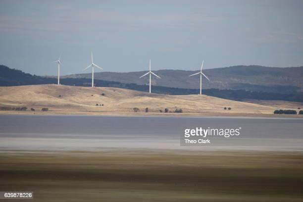 Wind farm at Lake George