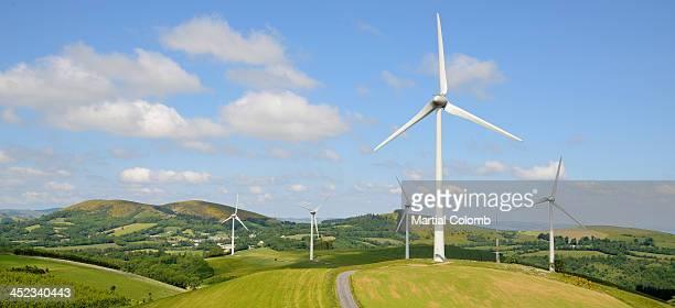 Wind farm in Tarn area