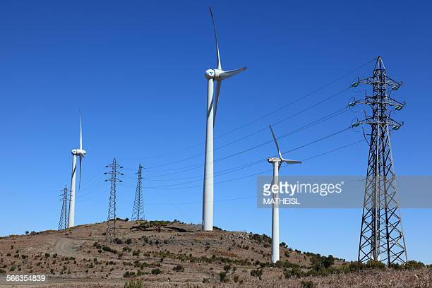 Wind Farm on Madeira Portugal Europe