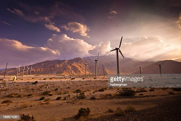 Wind Farm, Palm Springs, Kalifornien