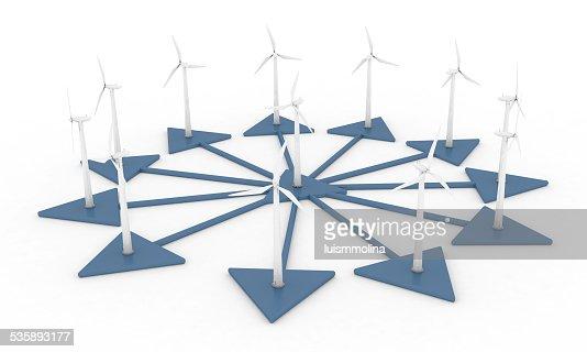 Wind Power : Stock-Foto