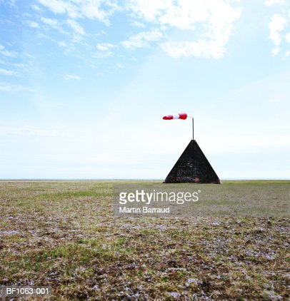Wind sock in field : Photo