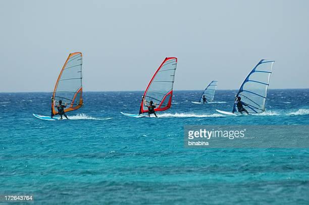 Vento surf corsa