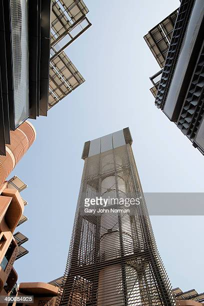 A Wind Tower in Masdar City