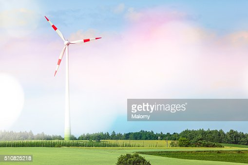 Wind turbine. Clean Energy.