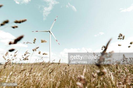 Wind turbine : Foto de stock