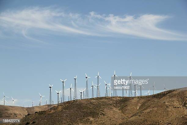 Wind Turbines Energy Altamont Pass
