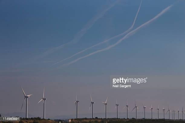 Wind Turbines, France, Bouches du Rhone, Camargue