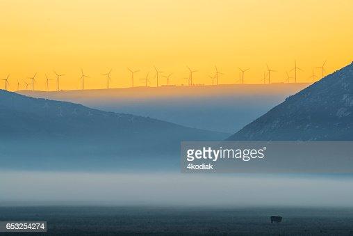 Wind Turbines : Stock-Foto