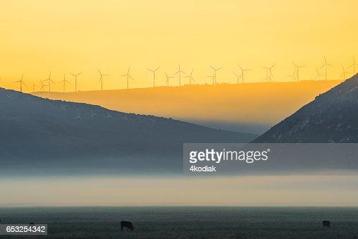 Wind Turbines : Stockfoto