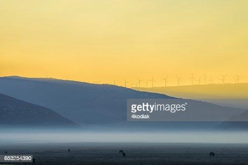 Wind Turbines : Stock Photo