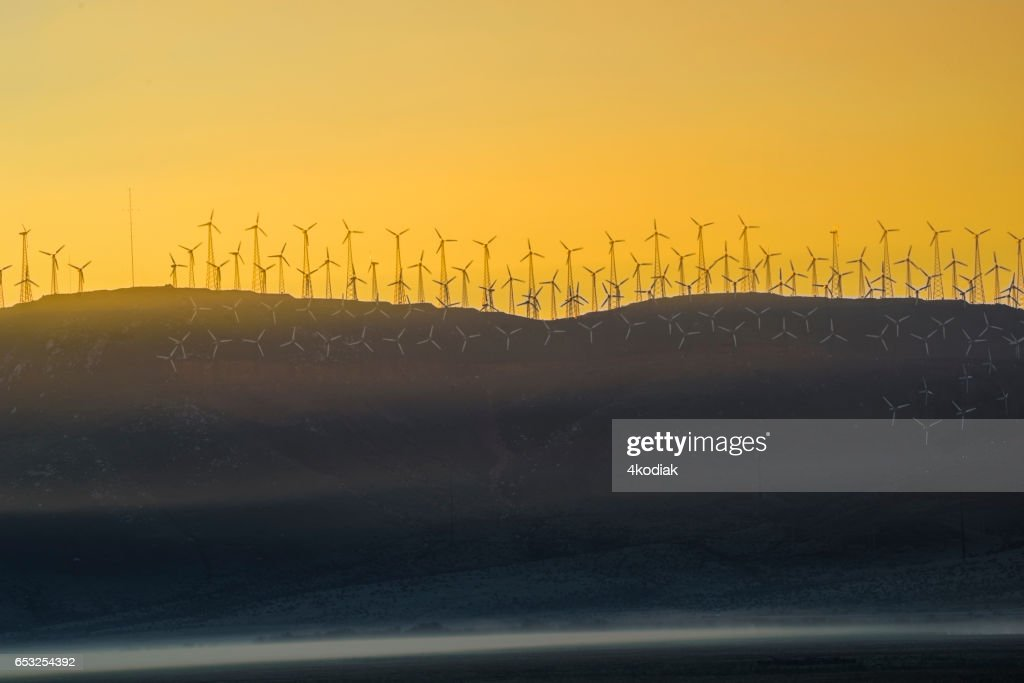 Wind Turbines : Foto stock