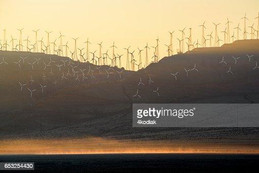 Wind Turbines : ストックフォト
