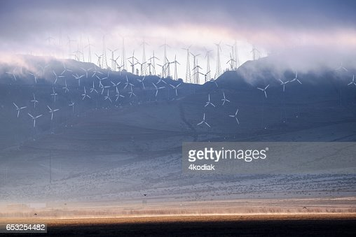 Wind Turbines : Stock-Foto