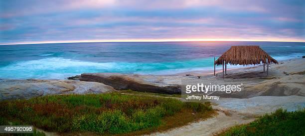 Windansea Beach is a stretch of coastline located in La Jolla, a community of San Diego, California.