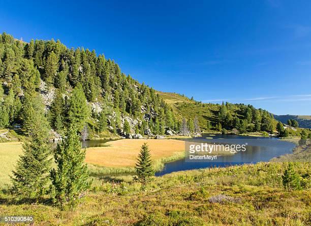 Windebensee, wunderschönen Alpin See in den österreichischen Alpen
