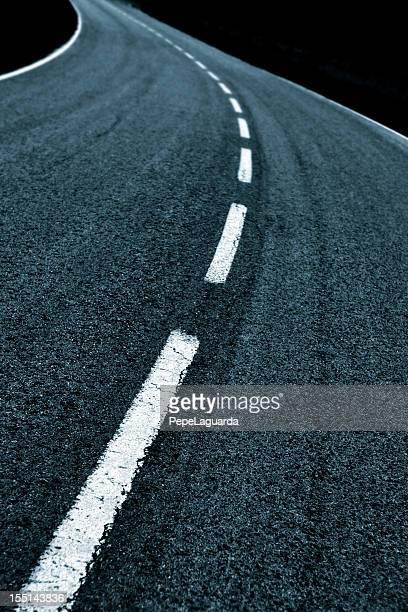 Kurvenreiche Straße