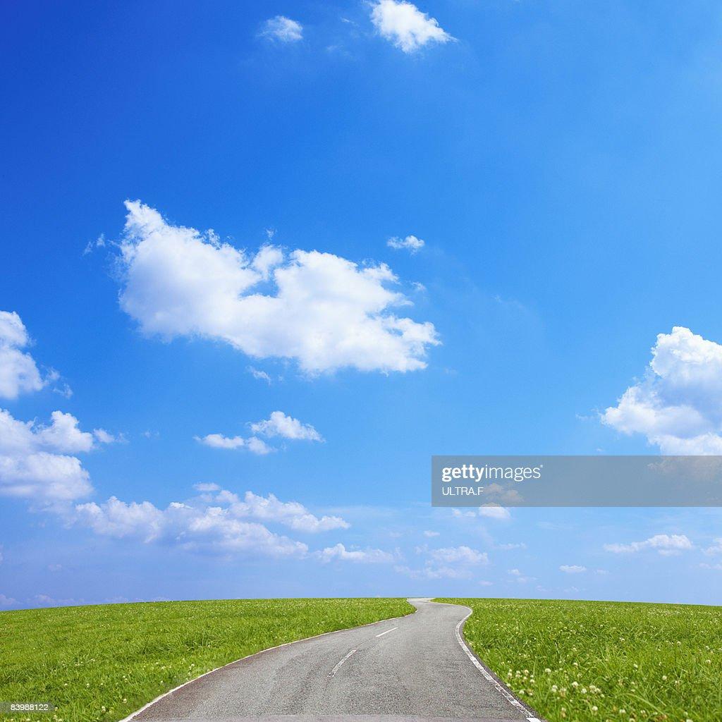 Winding road. : Stock Photo