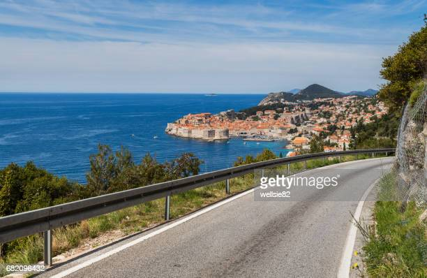 Winding roads to Dubrovnik