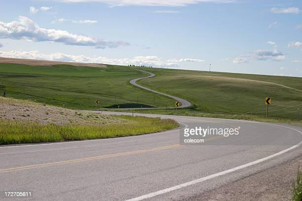 Winding Scenic Road Horizontal