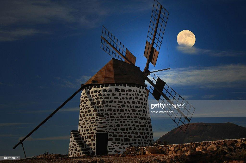 Windmill against sky