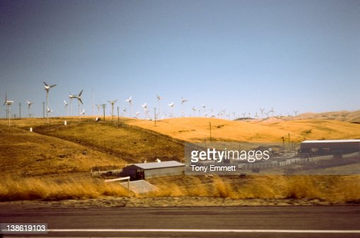 Windmill farm : ストックフォト