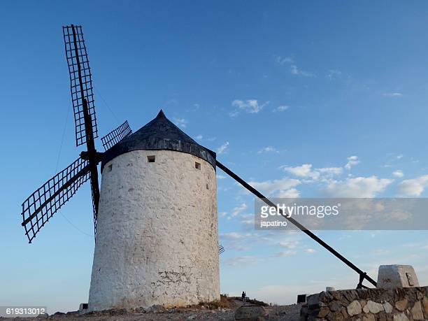 Windmill in the town of Consuegra in the province of Toledo