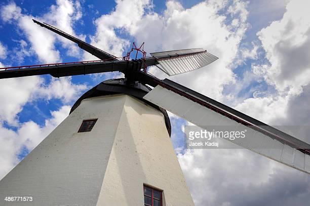 Windmill on Brnholm island