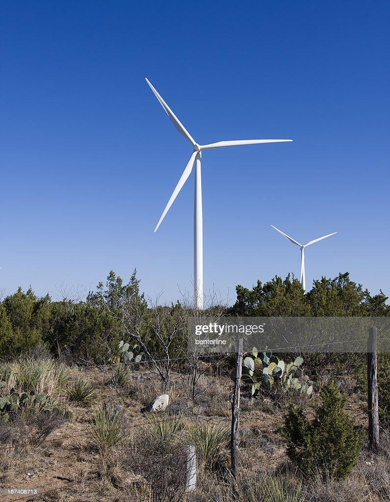 Windmills in New Mexico : Bildbanksbilder