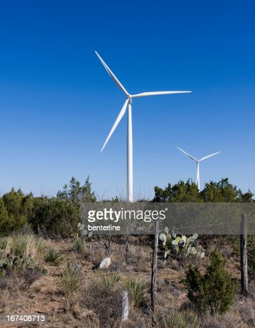 Windmills in New Mexico : Stock Photo
