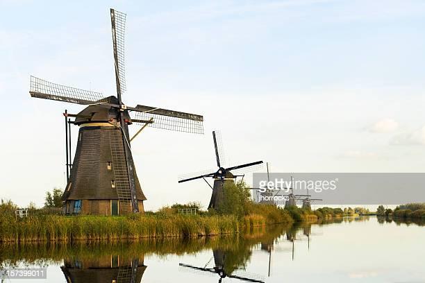 のオランダの風車