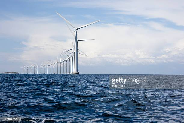 Windmills off shore